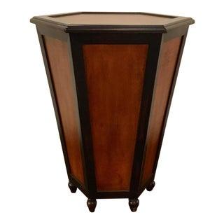 Scottsdale Mahogany Storage Table For Sale