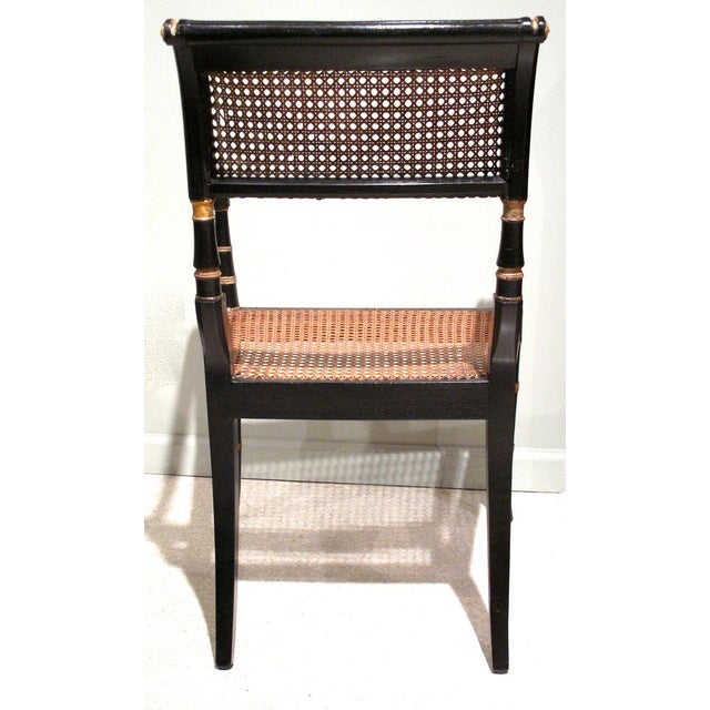 Early 19th Century English Regency Period Armchair - Image 4 of 6