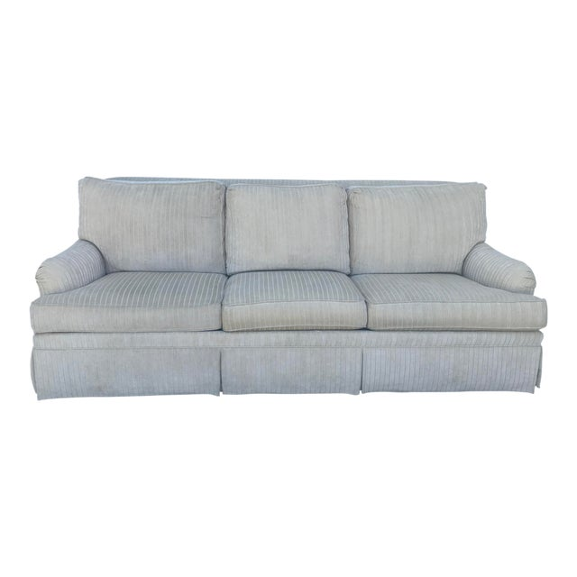Ethan Allen Cream Sofa For Sale