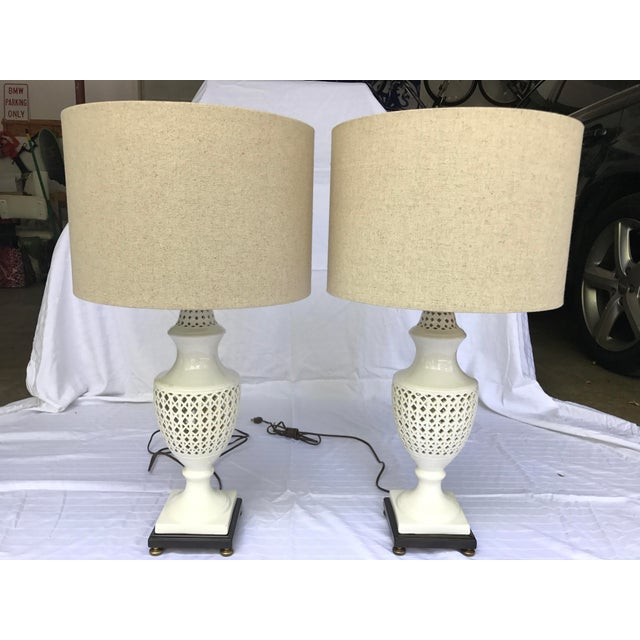 Chinoiserie Frederick Cooper Signed Table Lamps - A Pair - Image 2 of 8