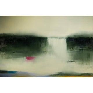 Liz Dexheimer Meditation Series, Magenta IV Abstract Landscape 2016 For Sale