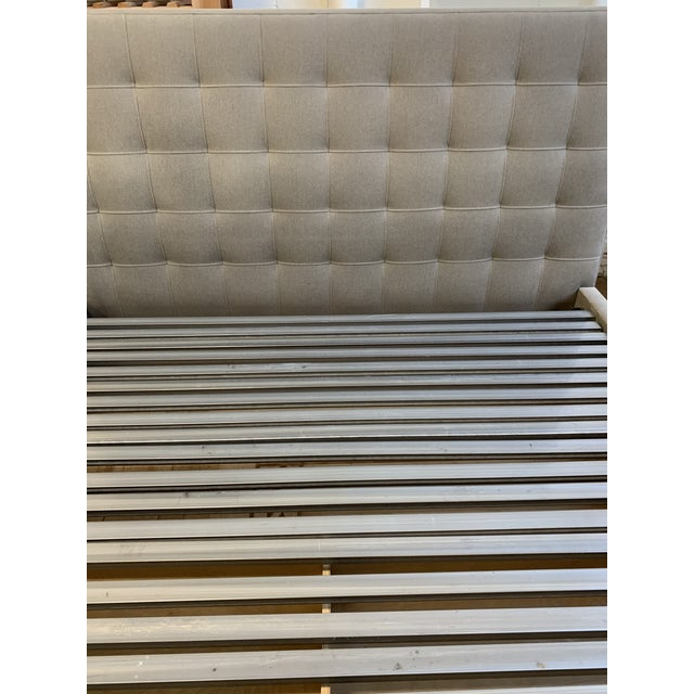 Modern Eastern King Room & Board Avery Bed + Storage Drawer For Sale - Image 3 of 9