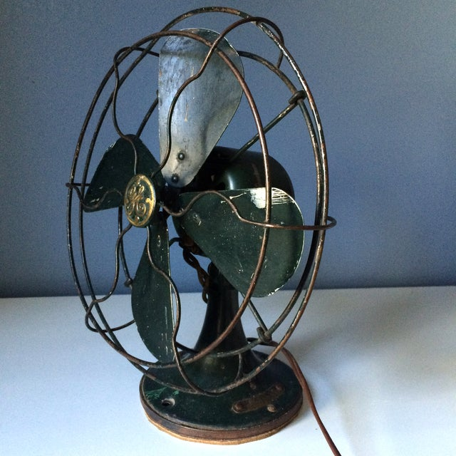 Vintage GE Industrial Table Fan - Image 10 of 10