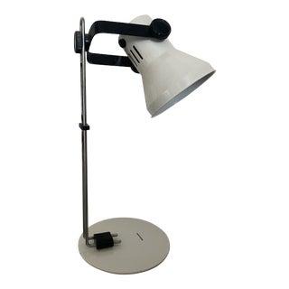 1990s Vintage White Adjustable Tensor Task/Desk Lamp For Sale