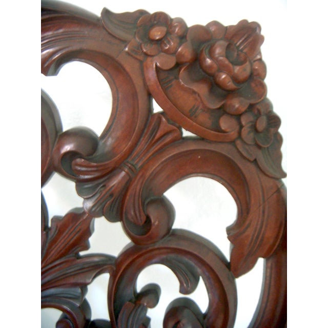 Ornate High Back Accent Chair - Image 6 of 6