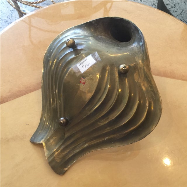 Mid-Century Modern Mid-Century Brass Swan Dish For Sale - Image 3 of 4