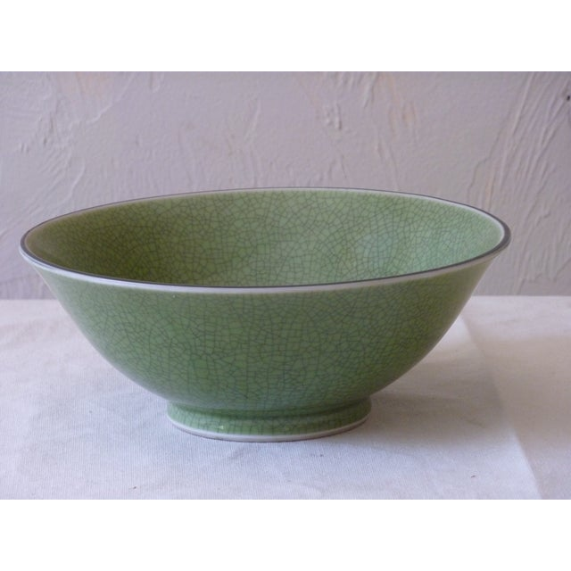 Chinese Crackle Glaze Bowl - Image 2 of 4