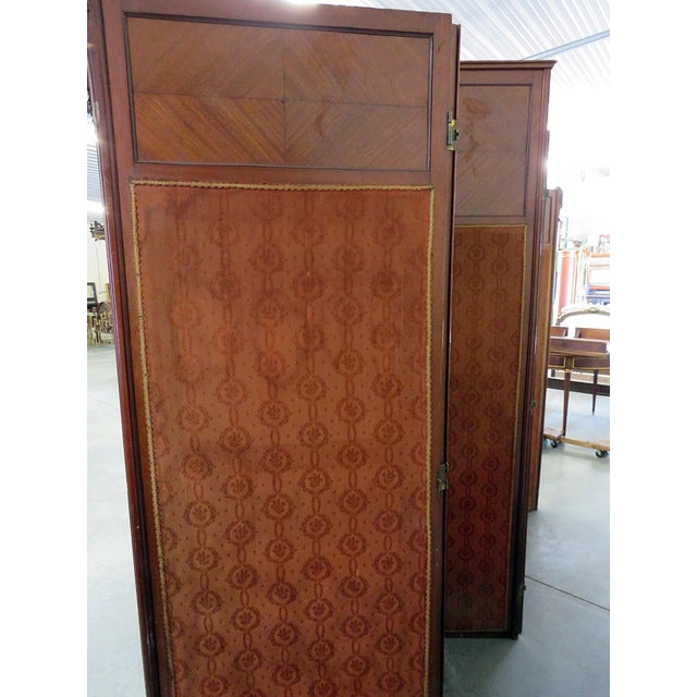 Aesthetic Victorian 4 Panel Screen For Sale - Image 10 of 13