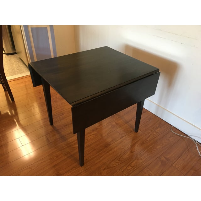 Room & Board Drop-Leaf Dining Table For Sale In New York - Image 6 of 9
