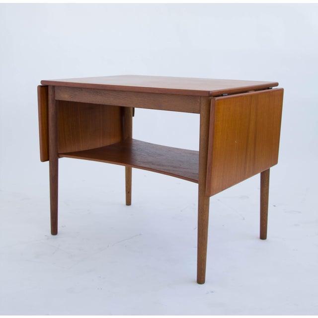 Borge Mogensen Drop Leaf Side Table - Image 6 of 6
