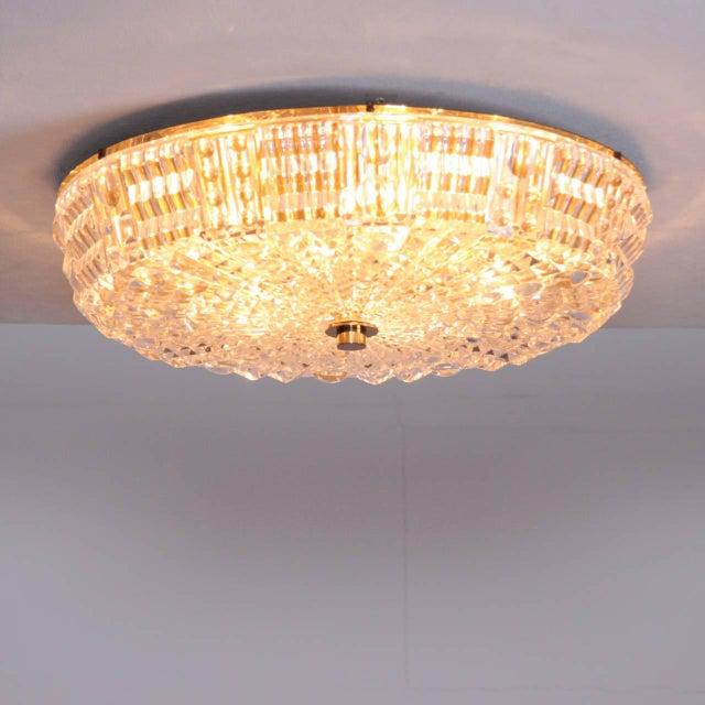 Beautiful, huge flush mount by Carl Fagerlund in high end quality. The flush mount floats the room with wonderful...