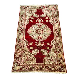 Antique Turkish Wool Oushak For Sale