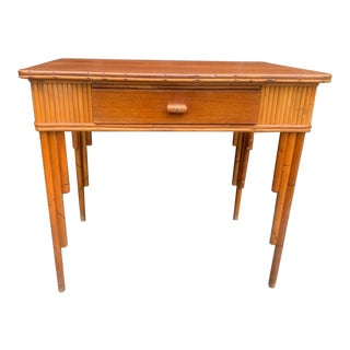 Rattan Writing Desk For Sale