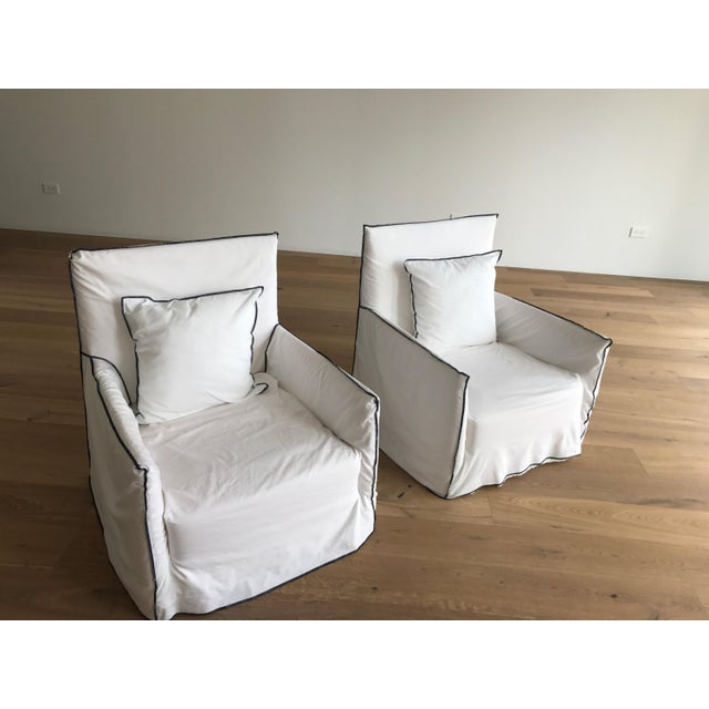 Gervasoni Ghost Armchairs - A Pair - Image 2 of 7