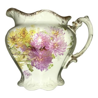 Late 18th Century 1890's Maddock Lamberton Porcelain Pitcher For Sale