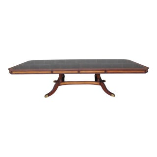 Theodore Alexander Regency Style Banded Mahogany Gabrielle Table 5405-236