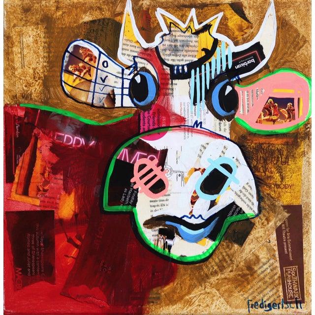 Pop Art Fredi Gertsch Barbica Original Artwork