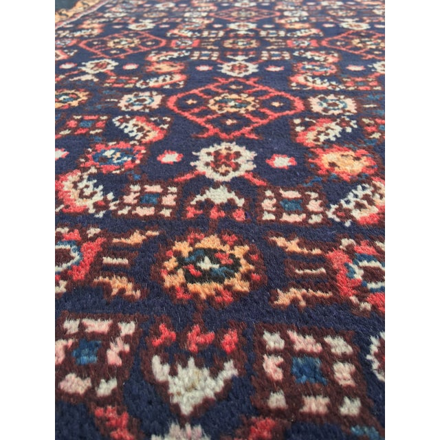 "Vintage Persian Malayer Runner - 2'4"" x 14'4"" - Image 10 of 10"