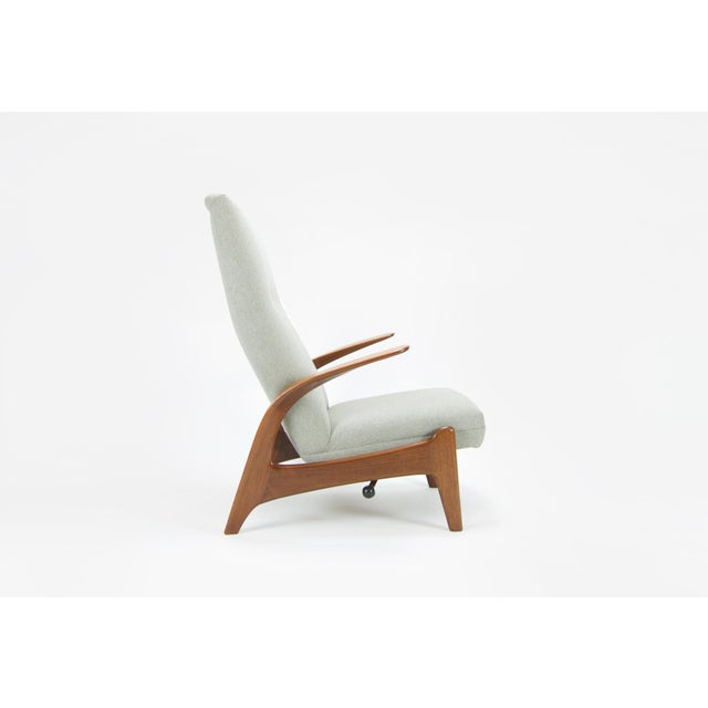 """Adolf Relling and Rolf Rastad """"Rock N Rest"""" Armchairs - a Pair For Sale - Image 5 of 9"""