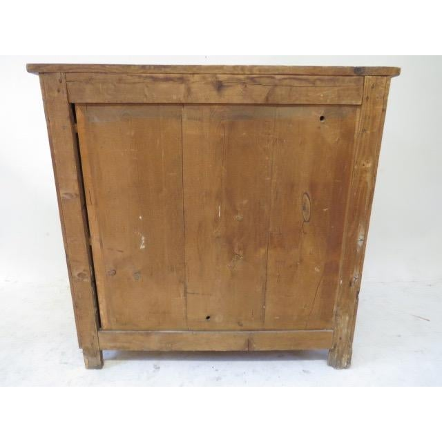 1920s Antique French Rustic Cabinet - Image 7 of 9