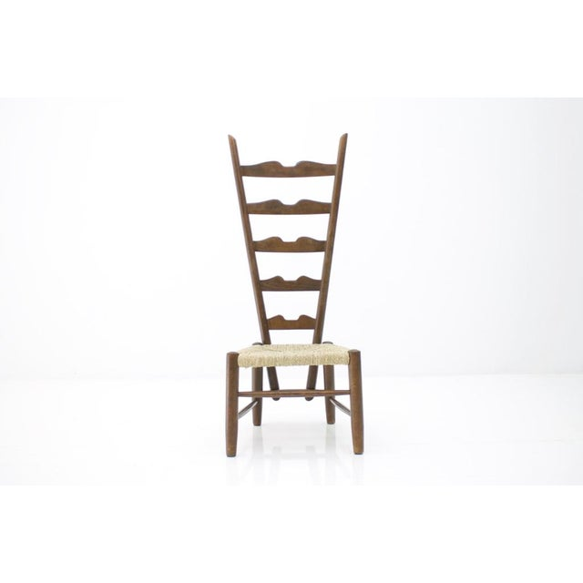 Gio Ponti Fire Side Chair, Italy, 1939 For Sale - Image 11 of 11