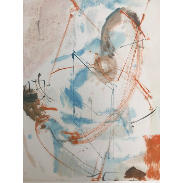 From a group of mixed media (watercolor, oil and tempera) works from the estate of artist Robert Colborne (1931-2002)....