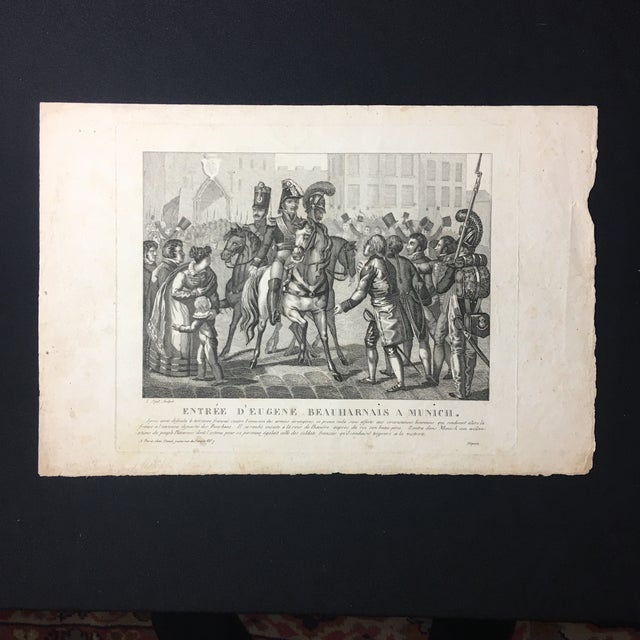 19th C. French Engraving - Image 3 of 7