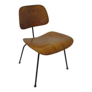Mid 20th Century Early Production Eames Wood / Metal Dcm Chair for Herman Miller For Sale