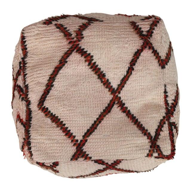 Vintage Moroccan Floor Pillow - Image 1 of 3