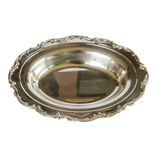 1980s Gorham Silverplate Harmony House Server Plate or Bowl For Sale