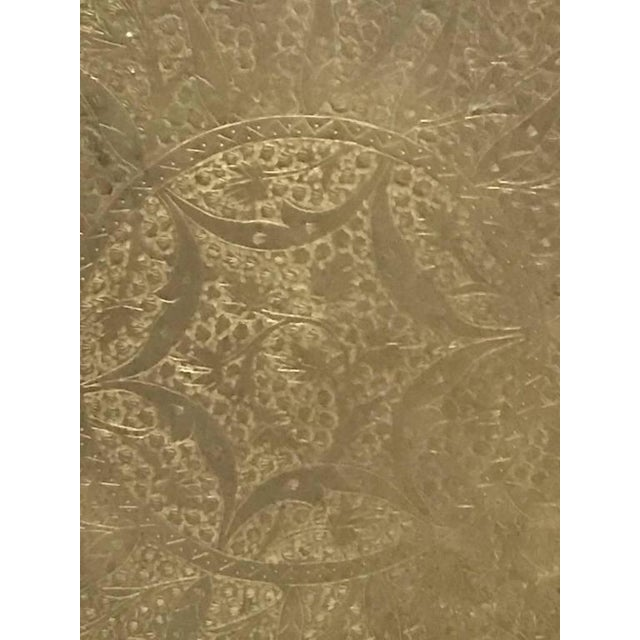 Wall Plate or Plaque Depicting Geometric Motif - Image 6 of 8