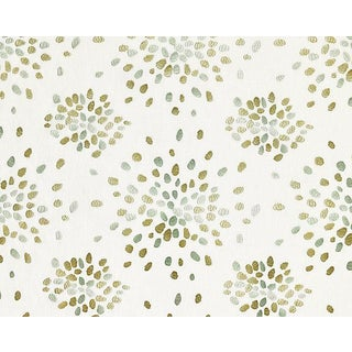 Hinson for the House of Scalamandre Firefly Fabric in Green For Sale