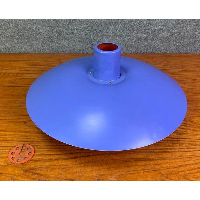 Mid-Century Modern Vintage Danish Mid Century Modern Ph 4/3 Pendant Lamp by Poul Henningsen for Louis Poulsen For Sale - Image 3 of 8
