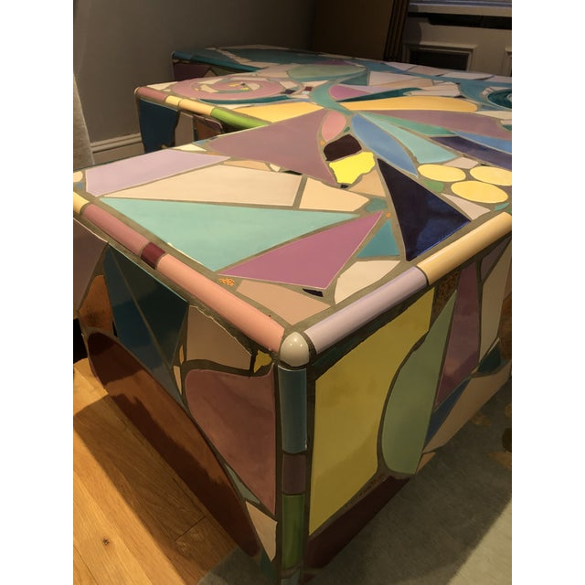 1970s Mosaic Coffee Table by Steve Chase For Sale - Image 5 of 8