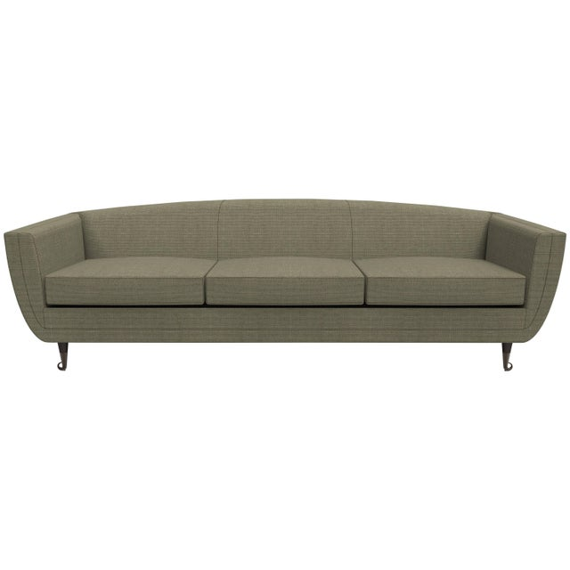 Custom Carlo Upholstered Sofa from William Collins Collection For Sale - Image 13 of 13
