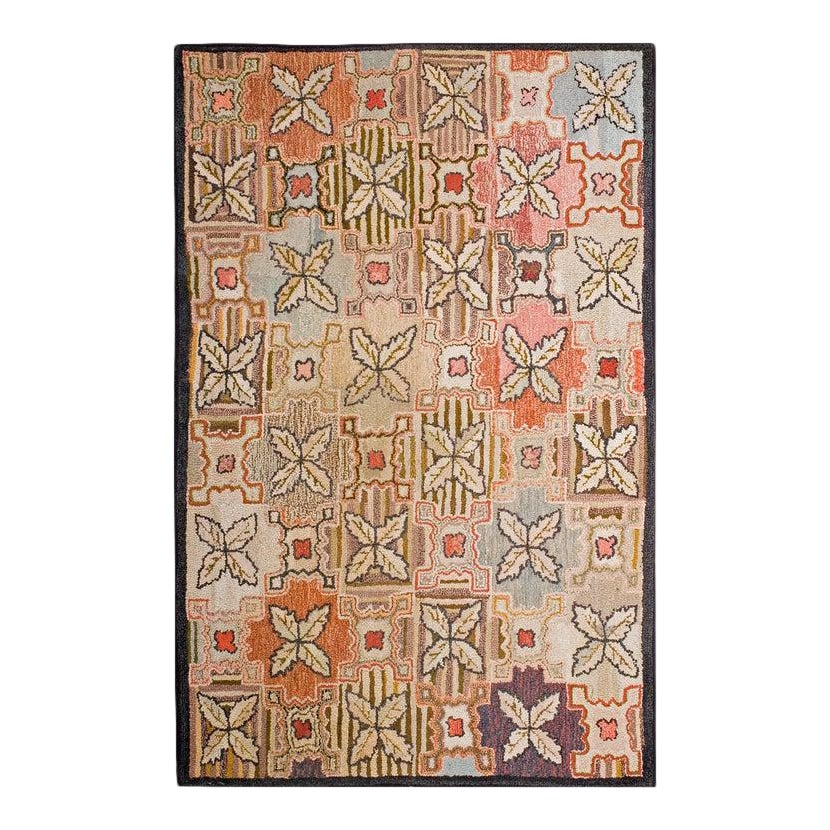 Antique American Hooked Rug 4 0 X 6 0 Chairish
