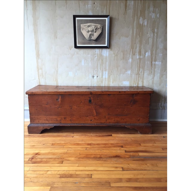Tuscan Antique Trunk - Image 4 of 8