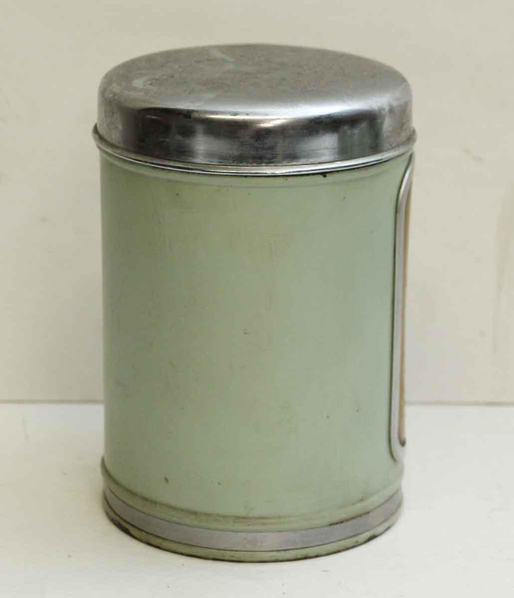 Vintage Brabantia Green French Kitchen Canisters Set of 6 Chairish