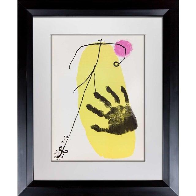 Joan Miro Original Lithograph 1956 For Sale