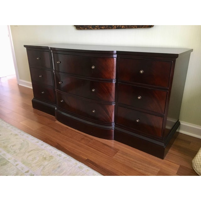 Art Deco Tripple Dresser by Thomas Pheasant for Baker For Sale - Image 3 of 5