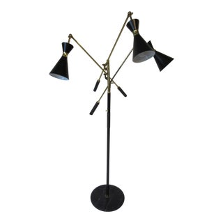 Italian Triennale Floor Lamp For Sale