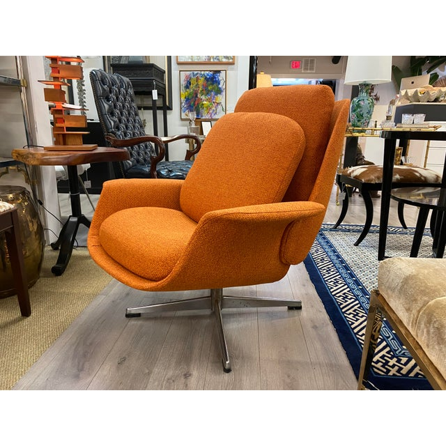 Mid-Century Modern Mid-Century Womb Chair With Ottoman From Stendig Furniture For Sale - Image 3 of 11