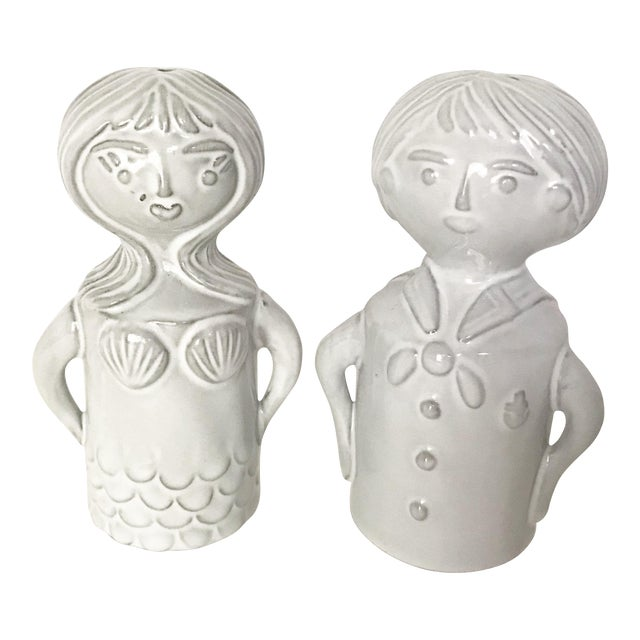 Jonathan Adler Salt & Pepper Shakers - A Pair - Image 1 of 4