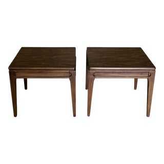 1960s Mid-Century Modern Mersman Side Tables - a Pair For Sale