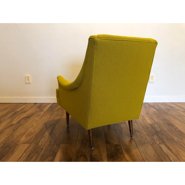 Wood Milo Baughman Thayer Coggin Chair For Sale - Image 7 of 10