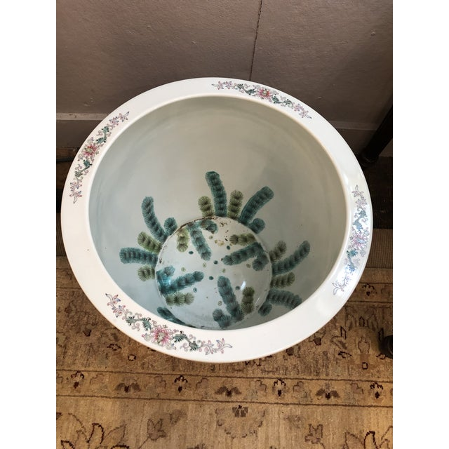 Large Ceramic Chinese Planter For Sale In Philadelphia - Image 6 of 11