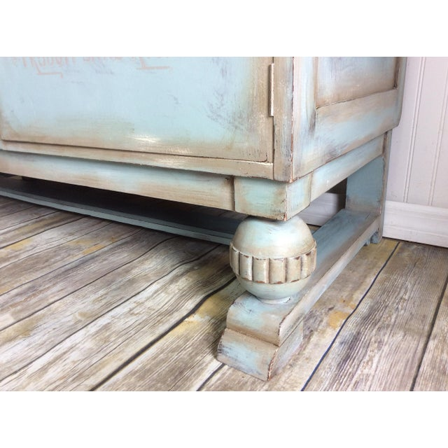 1930s French Cottage Painted Buffet For Sale In Orlando - Image 6 of 13