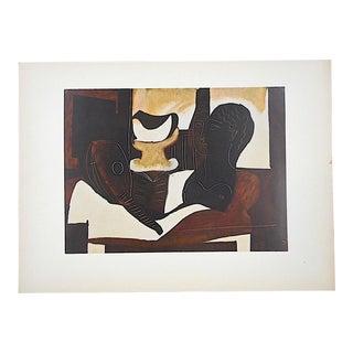 Vintage Mid 20th Century Lithograph-Pablo Picasso-Folio Size For Sale