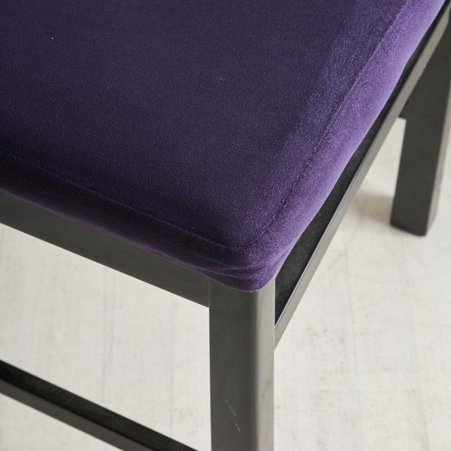 1980s A Set of 6 Post Modern Dining Chairs by Aldo Rossi, 1980s For Sale - Image 5 of 7