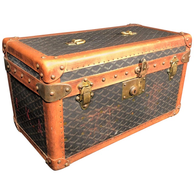 Goyard Jewelry or Valuables Trunk Train Case For Sale